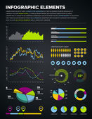 Elementos de infográfico de design — Vetorial Stock