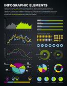 Infographic ontwerpelementen — Stockvector