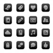 Royalty-Free Stock Vectorielle: Social media icons