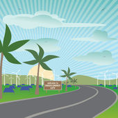 Renewable energy — Stock Vector
