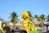 Banana-costume — Stockfoto