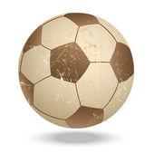 Soccer-vintage — Stock Vector