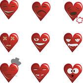 Hearts — Cтоковый вектор