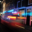 Nightlife in Amsterdam — Stock Photo
