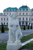 Belvedere Castle Vienna — Stock Photo