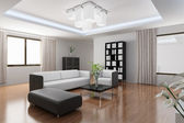 Modern living room — Stock Photo