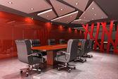 Modern meeting room — Stock Photo