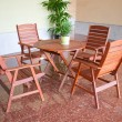 Table and chairs — Stockfoto