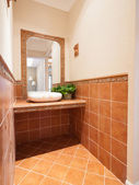 раковина в ванной комнате — Стоковое фото