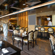 Luxury restaurant interior with modern style - Photo