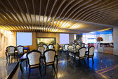Luxury restaurant interior with modern style — Foto Stock