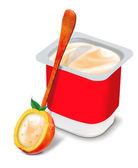 Taze yoğurt — Stok fotoğraf