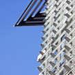 Stock Photo: Blue Sky and Linear Facade