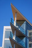 Blue Sky and Modern Living — Stock Photo