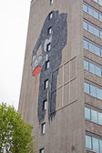 Decorated Office Block in Bristol UK — Stock Photo