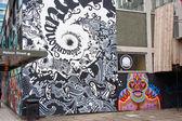 Painted City Walls — Stock Photo