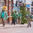 Постер, плакат: Jack in the Green procession to celebrate summer Bristol UK