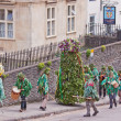 Stock Photo: Bristol Jack in Green procession