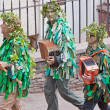 Stock Photo: Attendants in Jack in Green procession Bristol UK