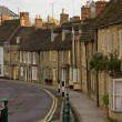 Stock Photo: Old English Town Dwellings