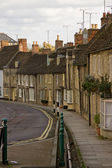 Old English Town Dwellings — Stock Photo