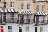 Striped Canopies — Stock Photo