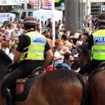 Постер, плакат: Mounted Police Patrol