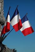 Drapeaux français — Photo