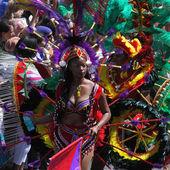 Entourage e Regina del Carnevale — Foto Stock