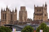 Classical Skyline, Bristol UK — Stock Photo
