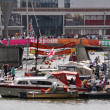 Bristol Harbour at Festival Time — Stock Photo