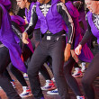 Hip Hop Dance Routine - Stock Photo