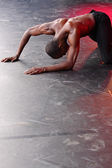 Solo Dance Performance — Stock Photo