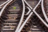 Líneas ferroviarias — Foto de Stock
