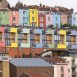 Colourful Harbourside Living — Stock Photo