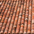 Roof Pattern in Southern France — Stock Photo