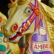 Stock Photo: Traditional Fairground Horse 1