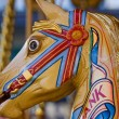 Stock Photo: Traditional Fairground Horse 2