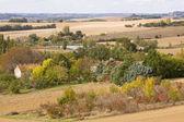 Herbstliche Landschaft in sw Frankreich — Stockfoto