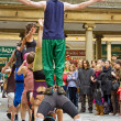 Street Acrobatics 1 — Stock Photo