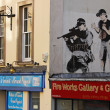 Banksy Police Sniper 3 - Stock Photo