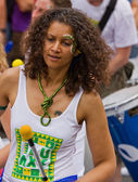 Samba Drummer — Stock Photo