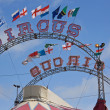 Stock Photo: Circus Flags 2