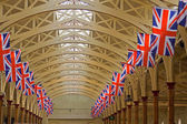 Union Jack Flags 2 — Stock Photo