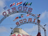 Circus Flags 2 — Stock Photo