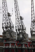 Old Dock Cranes 1 — Stock Photo