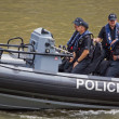Stock Photo: Waterborne Police Patrol