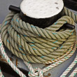 Stock Photo: Mooring Ropes