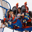 Stock Photo: Fairground Riders