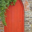 Stock Photo: Garden Doorway